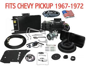 1967-72 CHEVY PICKUP A/C KIT VINTAGE AIR SUREFIT GEN IV WO FACTORY AC  - 941170