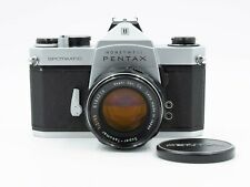 Honeywell Pentax Spotmatic 35mm Film SLR Camera w/55mm f2 Lens Excellent Cond.