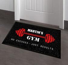 Sala de gimnasio Personalizado/alfombra de puerta Cueva de hombre de 60 X 40 cm Alfombra De Sala