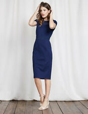 Boden Hera Ponte Dress Size UK 14 Imperial Blue DH076 FF 07
