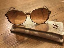 Vintage Corning Optics Serengeti Aviator Sunglasses Drivers 1980 Retro with case