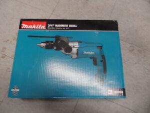 "Makita HP2050 HP2050 3/4"" Hammer Drill  New"