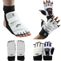 Taekwondo Hand Foot Instep Guard Gloves Sparring Martial Arts Training Protector