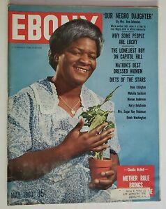 1960 Ebony Magazine Claudia McNeil Raisin in the Sun Diets of the Stars