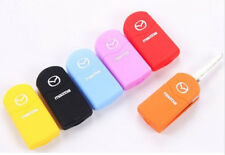 Silica gel remote control key protection case Cover For Mazda keychain