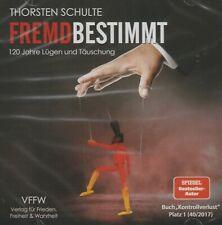 FREMDBESTIMMT - Thorsten Schulte - MP3 AUDIO CD - NEU
