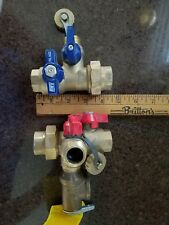"WATTS TANKLESS WATER HEATER VALVES  3/4""  RELIEF VALVE INCLUDED"