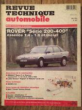 Revue Technique Automobile ROVER Série 200-400 essence 1.4 - 1.6 et Diesel