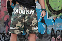 ADONIS.GEAR- HAMMA, SHORTS, BODYBUILDING, GYM, TRAINING, RUNNING, MENS, CAMO