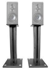 """Pair 26"""" Bookshelf Speaker Stands For Sony SSCS5 Bookshelf Speakers"""