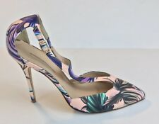 New J.CREW Roxie T-strap pumps in romantic floral print 7
