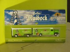 Heller Altenmunster  Maibock Hell Bussing 5000 Truck and Trailer -NEW