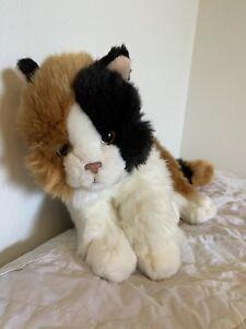 Teddy Hermann Cat Plush Calico Tri Color