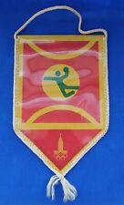 1980 Handball Pennant Emblem XXII Olympic Games Moscow 80 Vintage USSR ☭