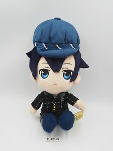 "Rare Persona 4 B0204 Naoto Shirogane Taito Plush 8"" TAG Stuffed Toy Doll Japan"