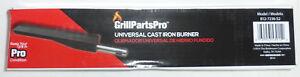BRINKMANN GrillPartsPro 812-7236-S2 UNIVERSAL CAST IRON BURNER, NEW