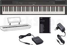 Yamaha P 125 B Digital E-Piano elektornisches Klavier schwarz - P 115 Nachfolger