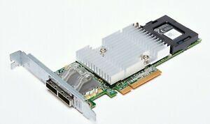 Dell 0NDD93 Perc H810 6Gb PCI-Ex8 2 port external RAID Controller 070K80 Battery