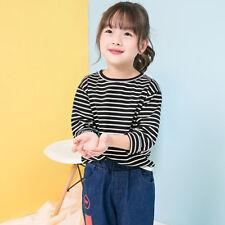 Infantil Infantil Bebe Niña Top Manga larga camiseta blusa sudadera Pullover