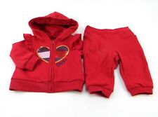 Tommy Hilfiger Baby Girls 2-PC Set Jacket/Pants Red Size...