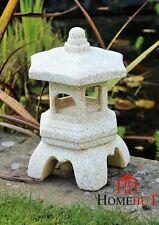 Garden Ornament Pagoda Chinese Japanese Sculpture Lantern Patio Ceramic Decor