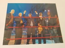 Main Event Mafia autographed 8x10 photo w * Sting, Nash, Angle, Steiner Booker T
