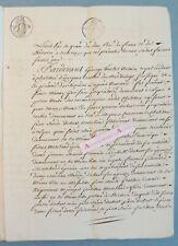 Acte 1817 Chatillon d'Azergues canton du bois d'Oingt familles Dubost Génissieu