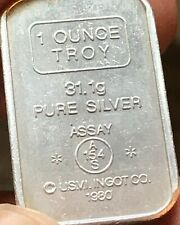 ** Asterisks ** Anaheim Metal Co 1 oz .999 Silver Bar USVI A-Mark ULTRA RARE !!!