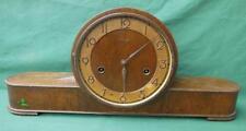 1930'S KIENZLE GERMAN GERMANY MANTLE CLOCK ART DECO CHIME PARTS OR REPAIR