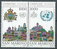 1992 SAN MARINO ONU MNH ** - ED