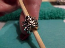 Pugster charms halloween bracelets -  skull European murano style halloween