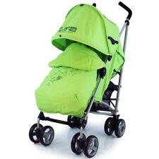 Stroller ZETA Vooom Hearts and Stars Design Complete Lime