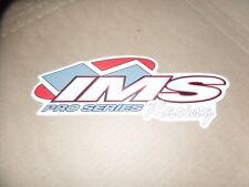 1 IMS PRO SERIES LARGE ATV MX STICKER DECAL HONDA TRX 250R 450R LTR 450 YFZ Z400
