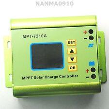 DC12-60V 10A MPPT Solar Charging Controller f 24V/36V/48V/72V Battery Charger