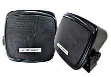 2 x Shelf  Mount Speakers Surface Pod 2 Way Car Van Motorhome Boat Truck Caravan