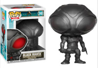 Exclusive Aquaman - Black Manta Flat Black Funko Pop Vinyl New in Box