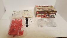 AMT ERTL 1959 CHEVY CORVETTE Model Kit 2 in 1 #6588 Street Or Drag open box