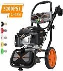 TACKLIFE Gas Pressure Washer 3200PSI at 2.4GPM 6.5 Peak HP, 5 Nozzles, 25FT Hose photo