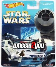 ROLLING THUNDER - Star Wars - 2016 Hot Wheels Pop Culture REAL RIDERS