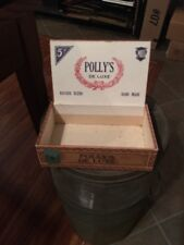 VINTAGE RED LION, PA CIGAR BOX - Polly De Luxe Distributed By SNYDER Candy York