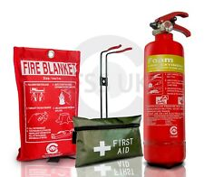 1L FOAM (AFFF) FIRE EXTINGUISHER WITH FIRE BLANKET & 1ST AID KIT