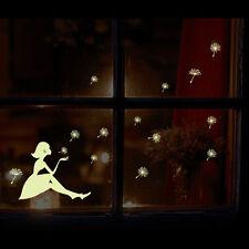 Glow in the dark wall sticker DIY kid's room decoration home decals luminousRDUJ