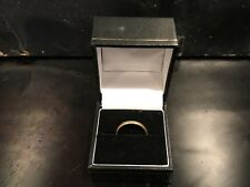 22CT YELLOW GOLD WEDDING BAND. SIZE N LOVELY OLD RING. HALLMARKED.