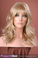 PETITE LACE FRONT MONO Soft Waved Wig Natural Blonde