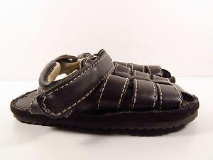 Okie-Dokie Brown Fisherman Sandals Size 4 (Toddler)