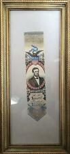 President Abraham Lincoln- Silk Death Ribbon