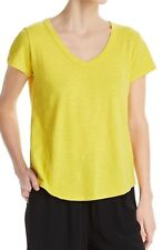 Eileen Fisher Organic Cotton V-Neck Tee Petite Size PS
