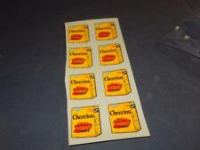 LIONEL PART - 9832-20  MPC CHEERIOS REEFER DECAL SET -- NEW- W14