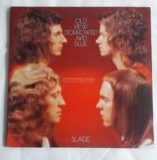Slade - Old New Borrowed And Blue  UK Lp Gatefold  Lyrics Printed