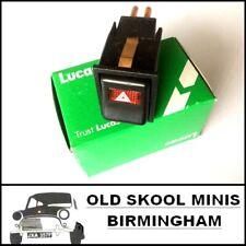 CLASSIC MINI HAZARD WARNING SWITCH YUF101660 1976> MK4 GENUINE LUCAS SPB603 AL16